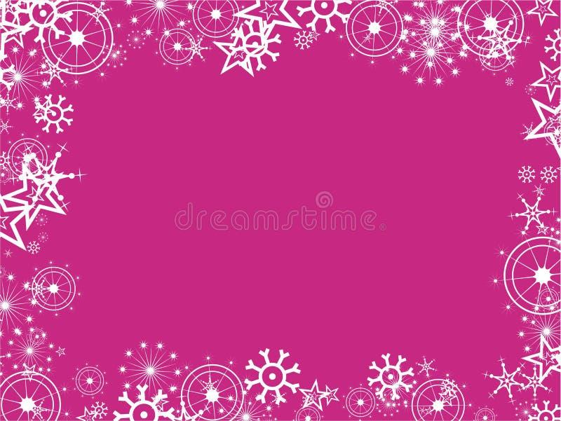 Beira do floco de neve ilustração royalty free