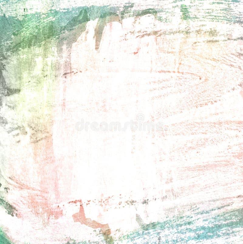 Beira do Grunge, fundo pintado ilustração royalty free