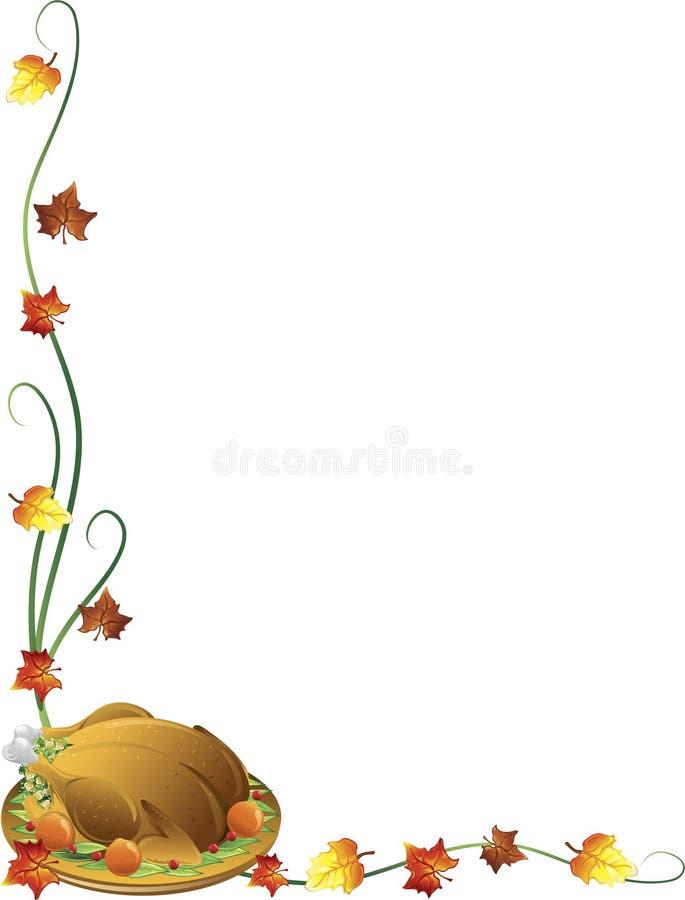 Beira do peru da acção de graças ilustração stock