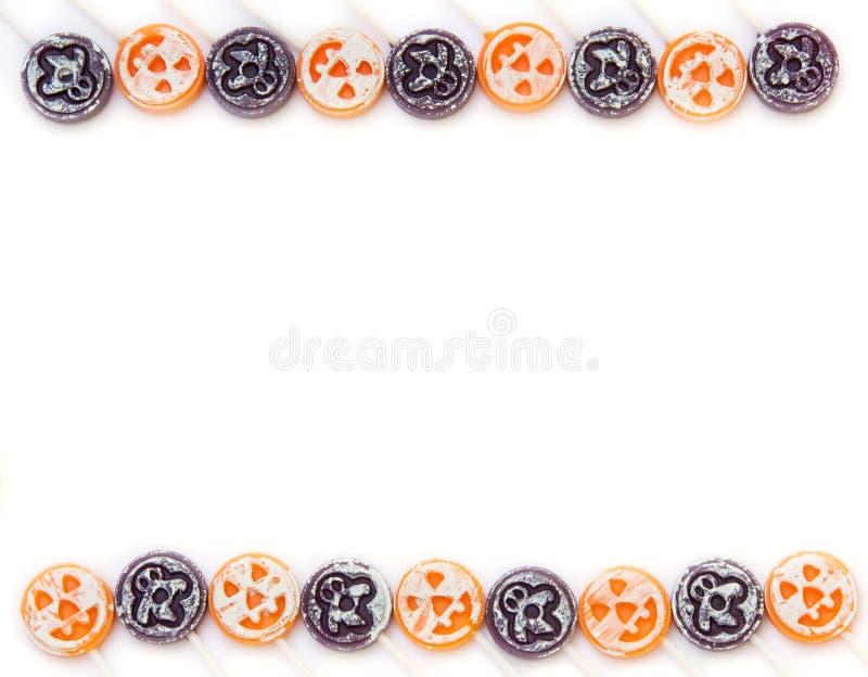 Beira dos doces de Halloween imagem de stock