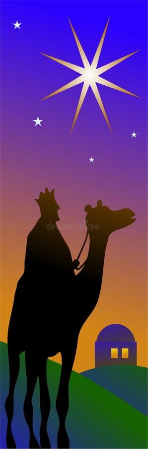 Beira dos reis ilustração stock
