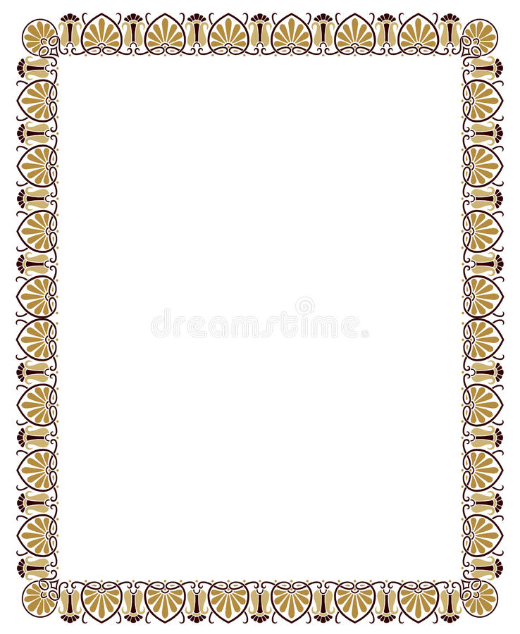 Download Beira floral ilustração do vetor. Ilustração de moderno - 10065922