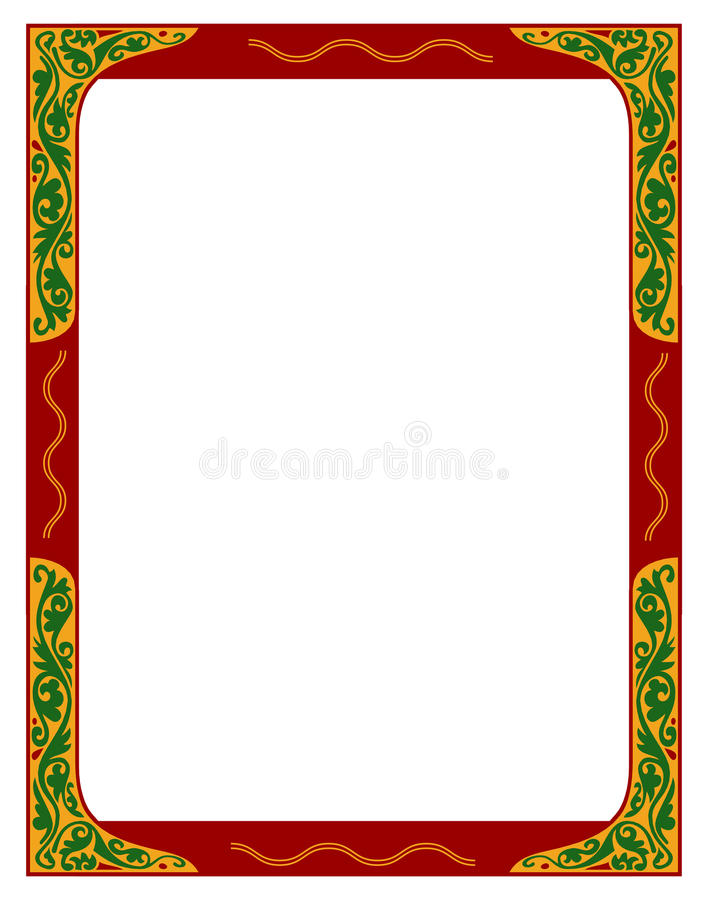 Download Beira floral ilustração do vetor. Ilustração de pattern - 10065975