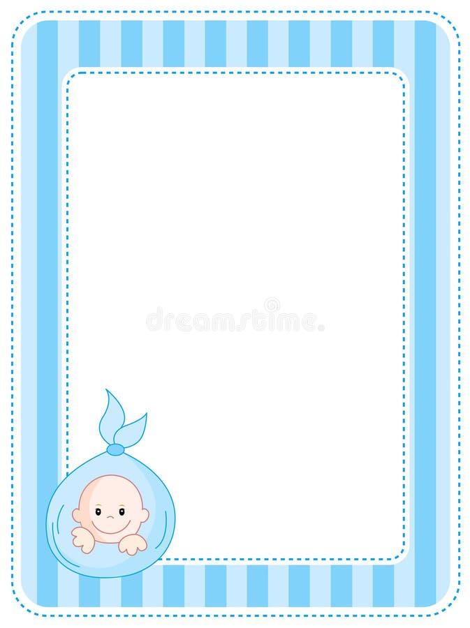Beira/frame do bebê ilustração do vetor