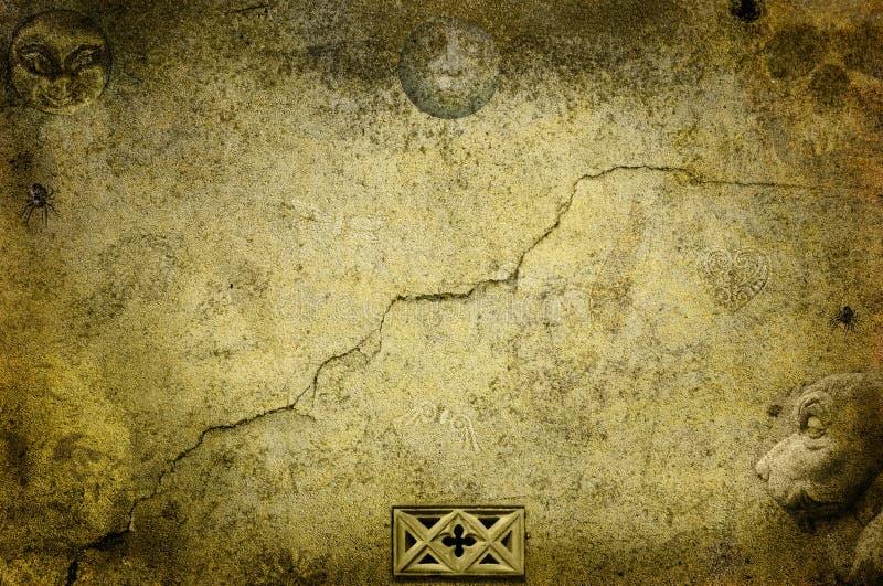 Beira gótico escura da fantasia ilustração royalty free