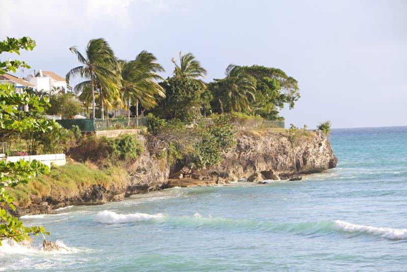 Beira-mar Cliff Retreat foto de stock royalty free