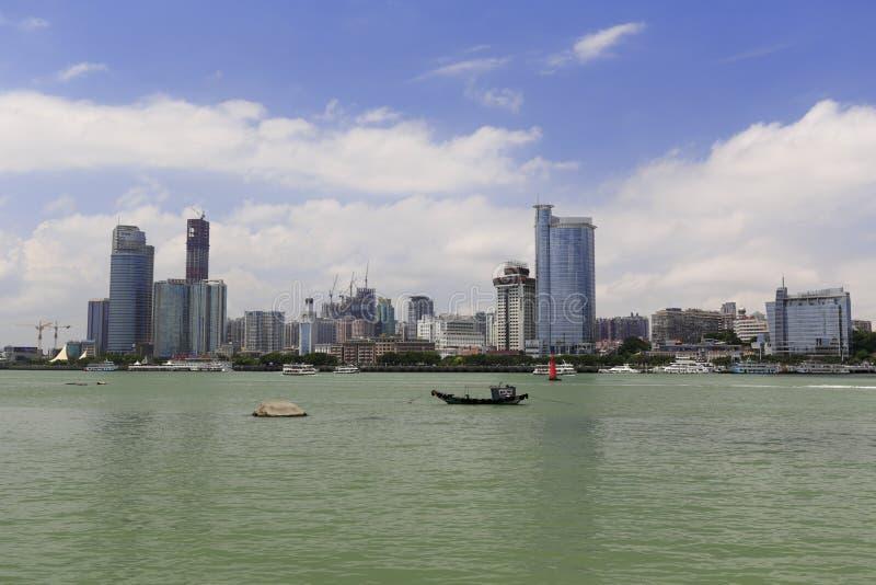 Download Beira-mar Da Ilha De Xiamen, Porcelana Fotografia Editorial - Imagem de downtown, cais: 80100342