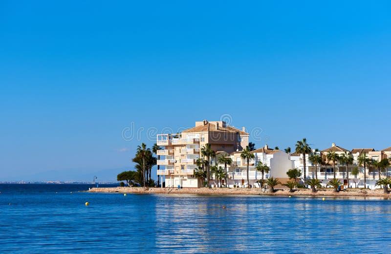 Beira-mar de Manga do La, Espanha foto de stock royalty free