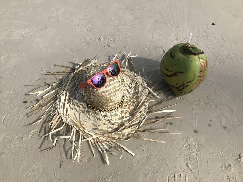 Beira-mar dos óculos de sol do mar foto de stock