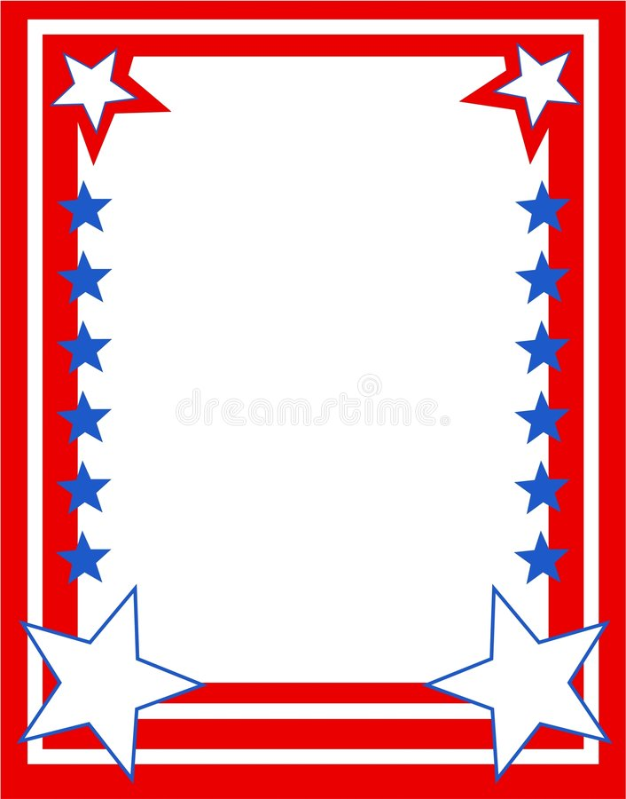 Download Beira patriótica ilustração do vetor. Ilustração de patriotism - 67853