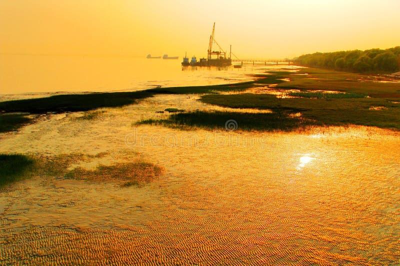 Beira-rio fotografia de stock