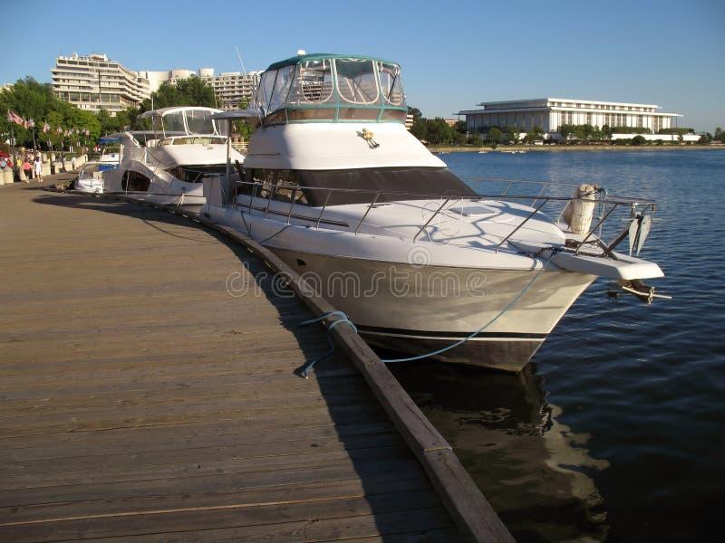 Beira-rio de Georgetown fotografia de stock