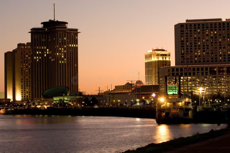Beira-rio de Nova Orleães imagem de stock royalty free