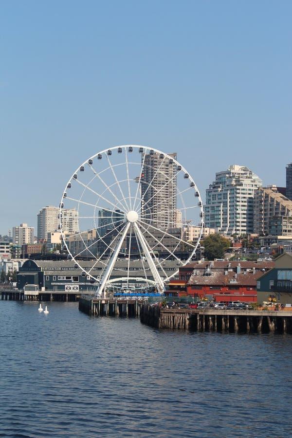 Beira-rio de Seattle imagem de stock