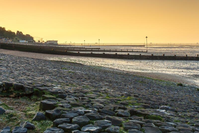 Beira-rio de Southend imagens de stock royalty free