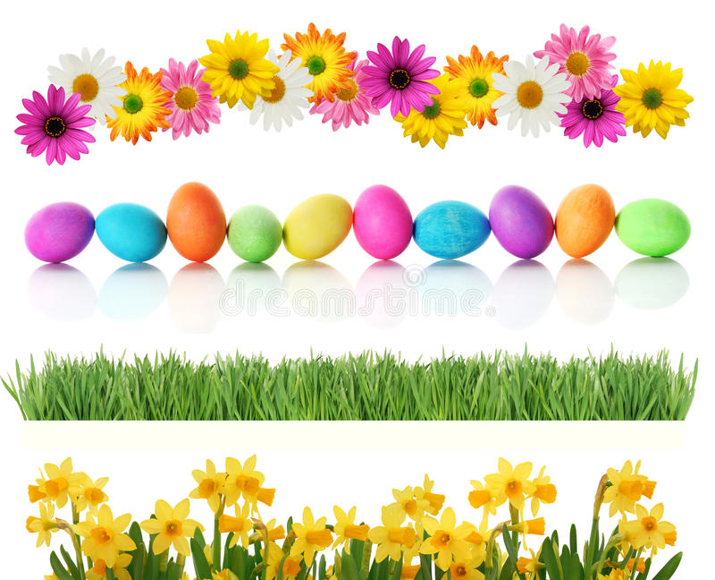 Beiras de Easter da mola imagens de stock