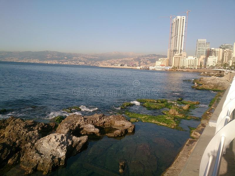 Beirut City royalty free stock image