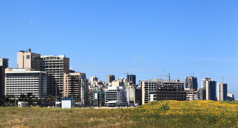 Download Beirut In The Springtime (Lebanon) Stock Image - Image: 24417645