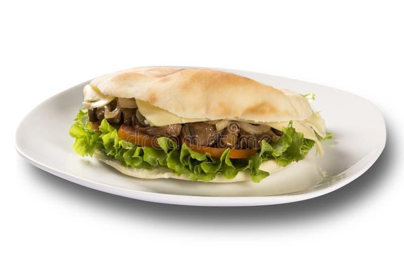 Beiruten - en brasiliansk smörgås fotografering för bildbyråer
