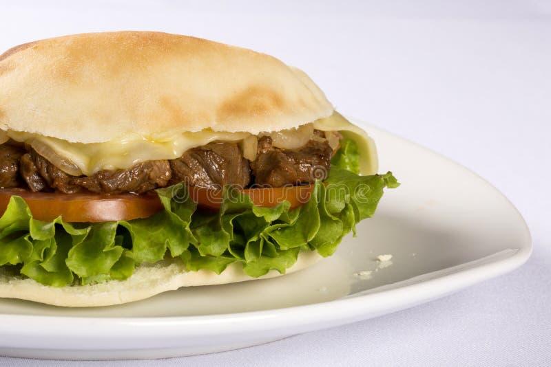 Beiruten - en brasiliansk smörgås royaltyfri foto