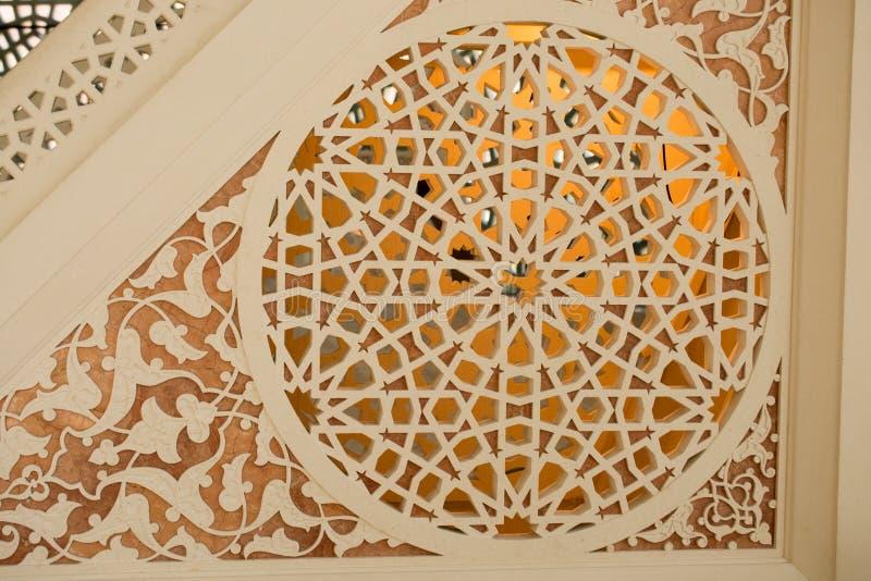 Beispiel von Osmanekunstmustern lizenzfreies stockfoto