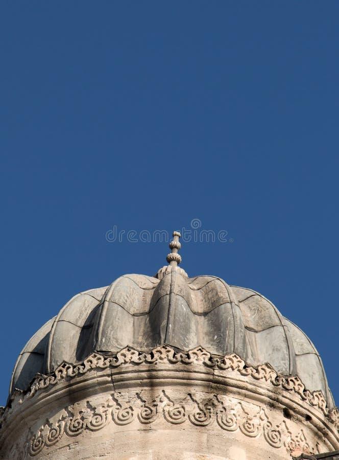 Beispiel von Osmanekunstmustern traf auf Stein zu stockbild