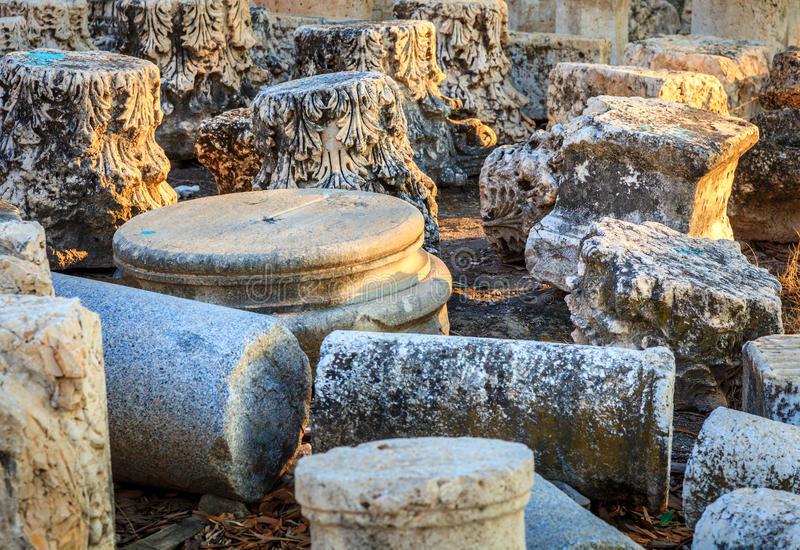 Download Beit She'an stock image. Image of broken, culture, past - 37249293