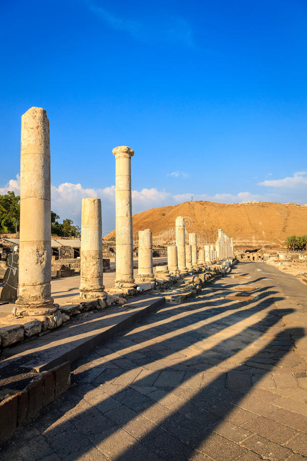 Download Beit She'an stock image. Image of ancient, landmark, city - 37252709