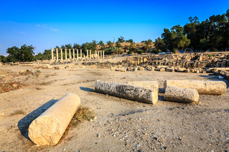 Beit She An Stock Images