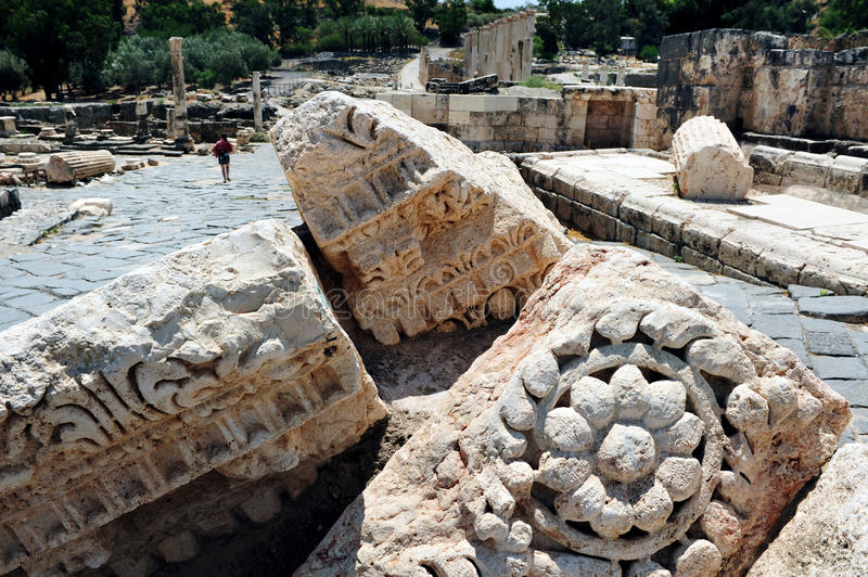 Beit antique Shean photo stock