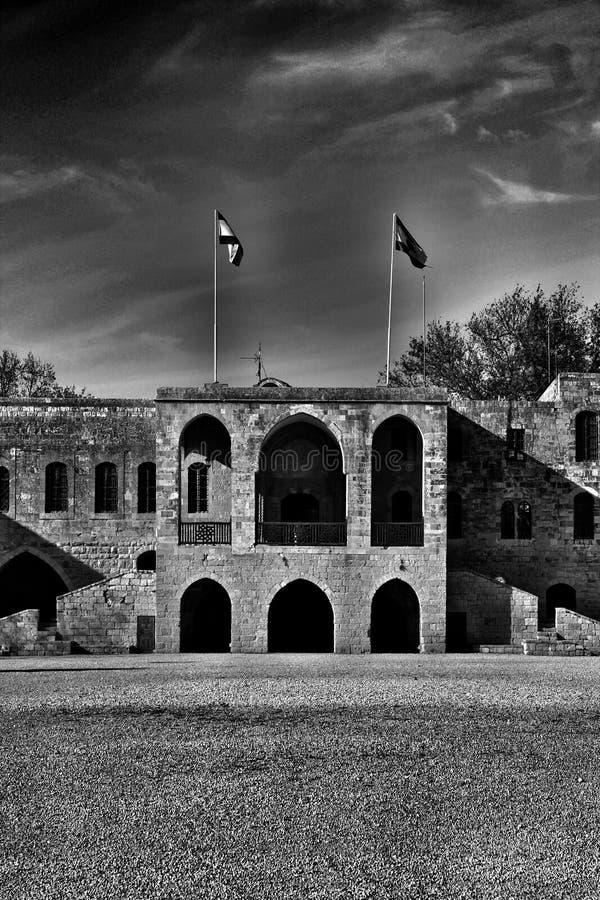 Beit El Din arkivfoto