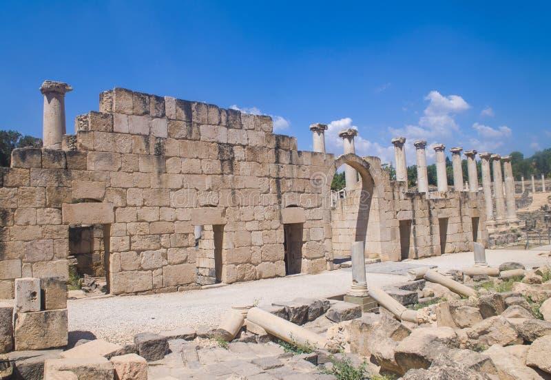 Beit Shean obraz royalty free