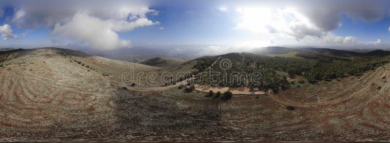 Beit Shean dolina zdjęcia royalty free