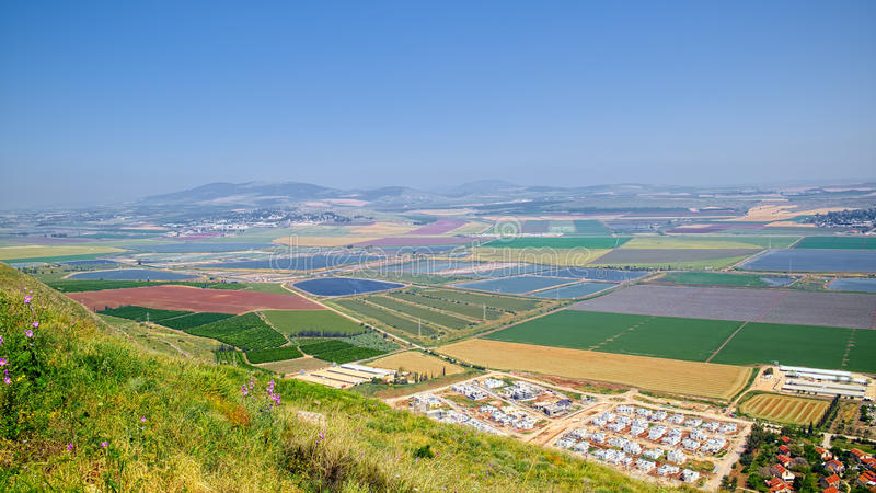 Beit Shean dolina, Izrael obraz stock