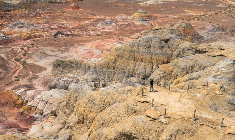 Beitun in Xinjiang, Cina fotografie stock libere da diritti