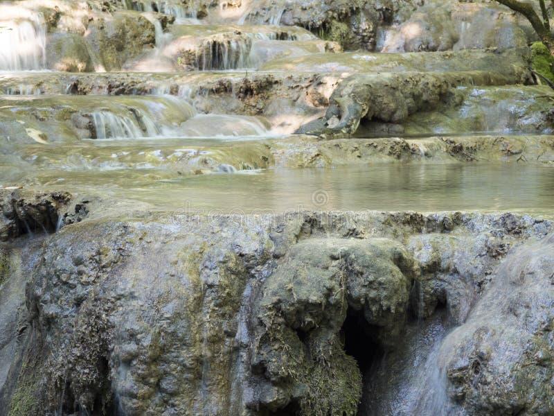 Beiu flod på den Cheile Nerei nationalparken, Rumänien royaltyfria foton