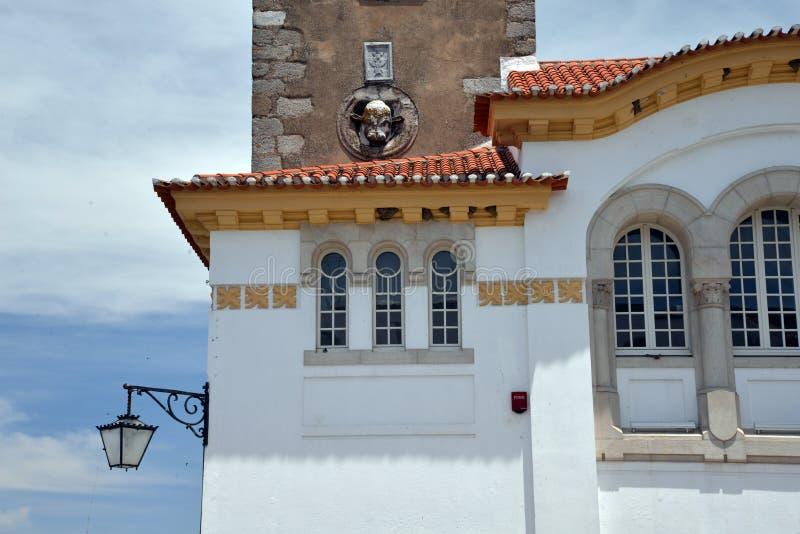 Beja, Alentejo, Portugal Traditionele architectuur stock fotografie