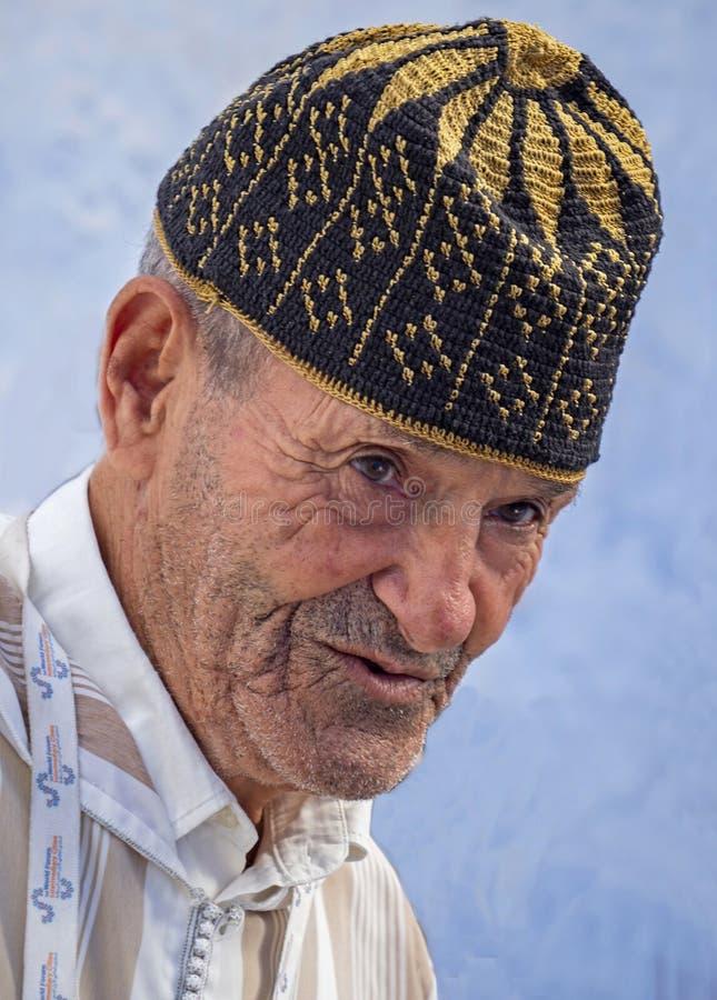 Bejaarde Berber-Gids royalty-vrije stock afbeelding