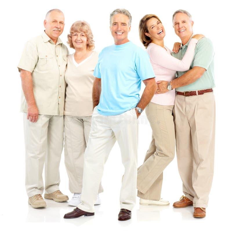 Bejaarde mensen royalty-vrije stock foto