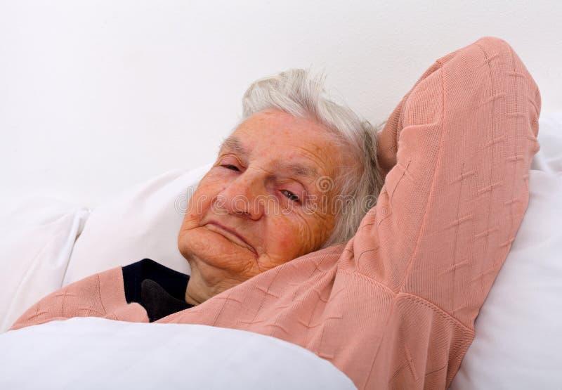Bejaarde zorg royalty-vrije stock foto