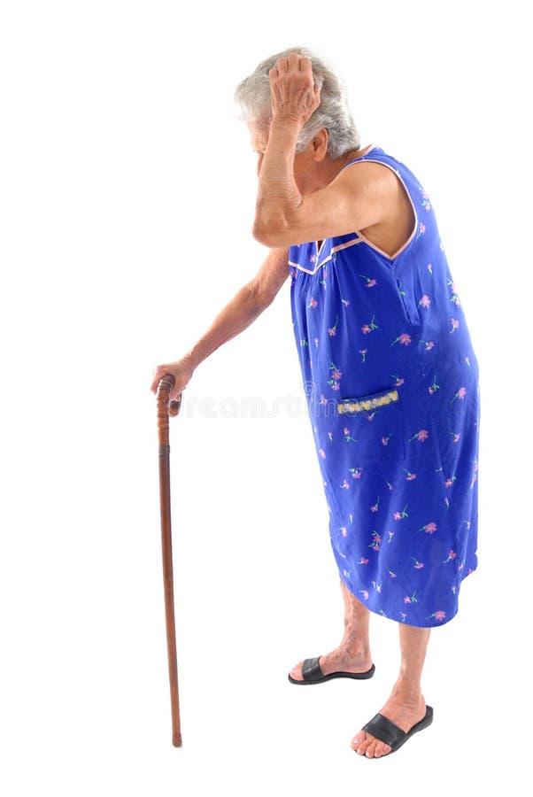Bejaarden royalty-vrije stock foto's