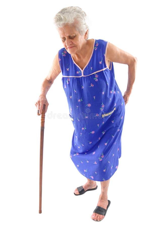 Bejaarden stock foto