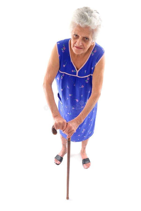 Bejaarden stock afbeelding