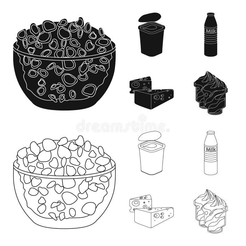 Bejaarden, tabletten, duiven, het lopen riet Pictogrammen van de oude dag de vastgestelde inzameling in zwarte, vector het symboo vector illustratie