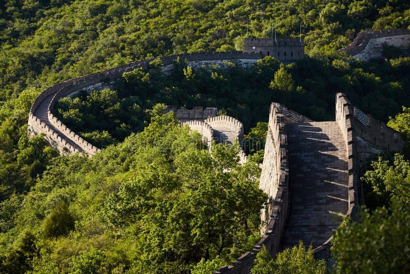 Bejing Mutianyu Great Wall, China stock photo