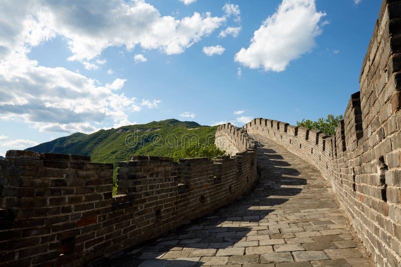 Bejing Mutianyu Great Wall, China royalty free stock photos