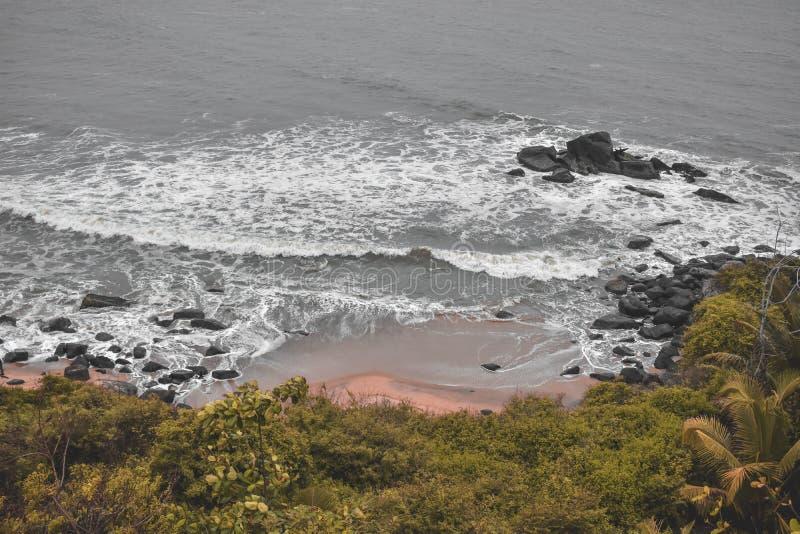 The Bekal beach park stock images