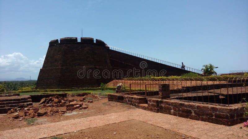 bekal fort royaltyfri bild