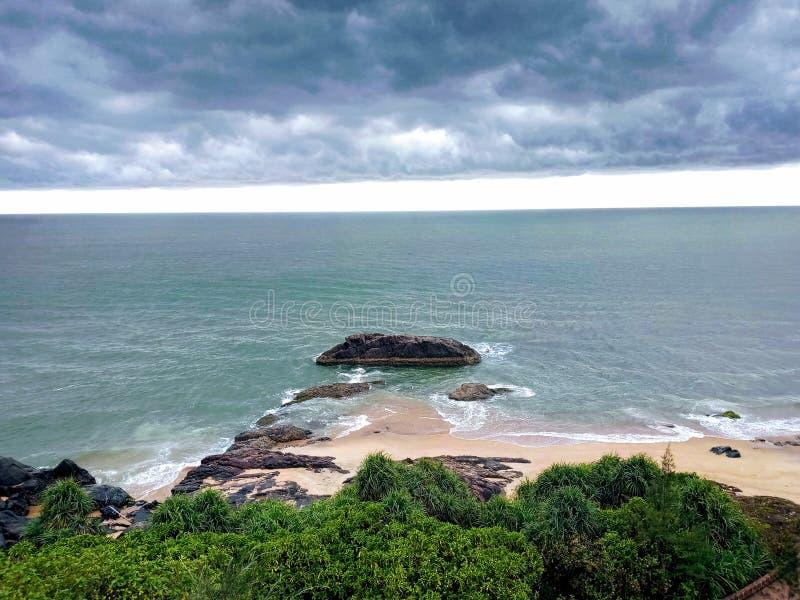 Bekal fortu morze zdjęcie royalty free