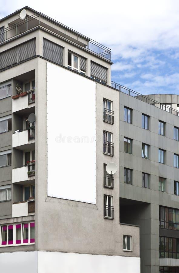 Bekanntmachen der Wand lizenzfreies stockbild